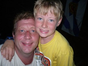 David and Dad, About August 15th, 2010