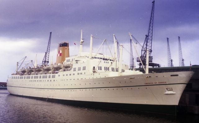 empress of canada passenger ship