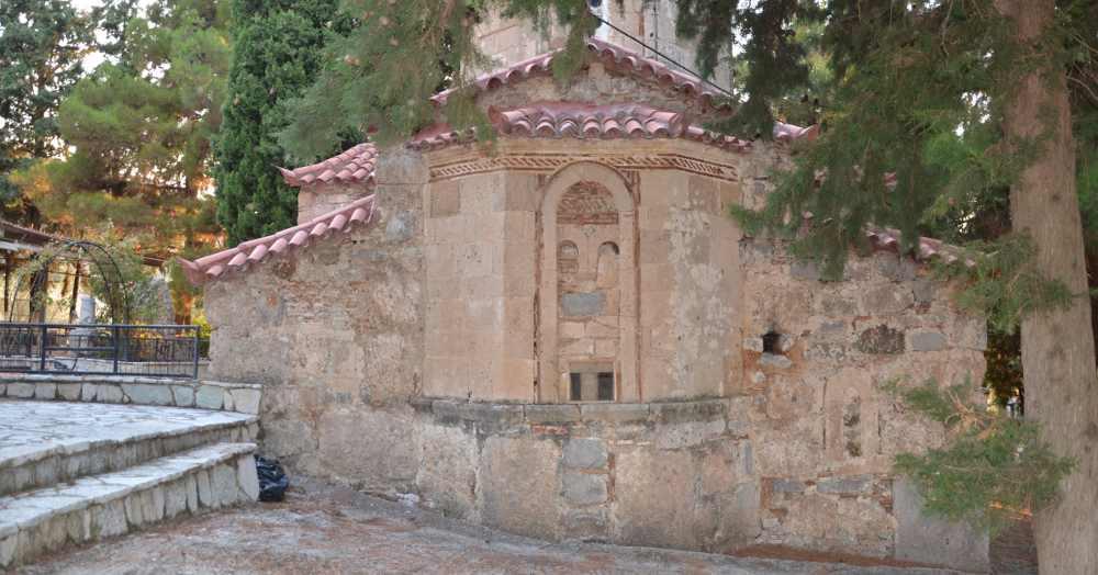 saint nicholas greek orthodox church - exarchos, greece